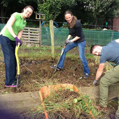 Caring Breaks - BT Flex Volunteer day
